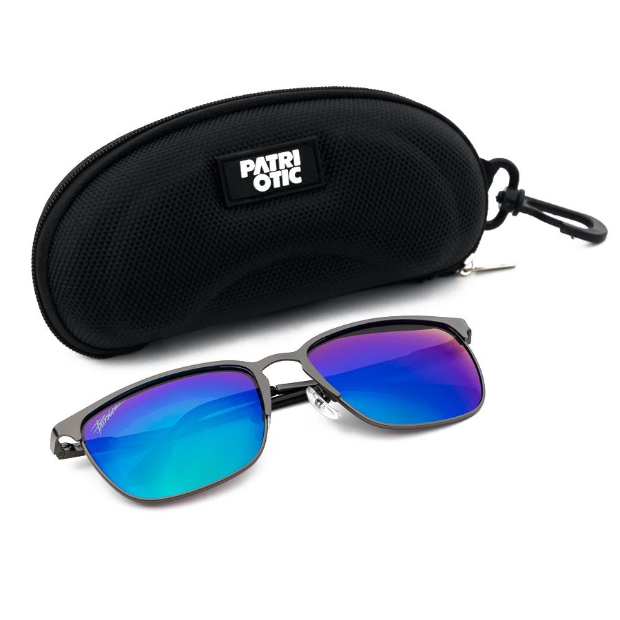 60f546140f16c2 Patriotic - Tag T8069 Okulary Polaryzacyjne + Etui kolor czarny ...